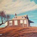 SPION KOP COTTAGE: The Lookout on the Hill oil/linen   20 x 30