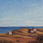Ballston Beach Miniature oil/canvas 4 x 4